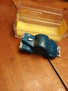 Model Motoring Blue Willies Includes Box H.O. Scale