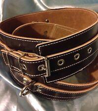 English Leather Thigh Cuffs  Handmade. Any Size,Colour. Bondage, Fetish.