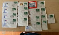 Nice collection of 16 Indian First Day covers & information sheet on INPEX 70