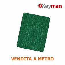 "Telo rete ombreggiante Alta schermatura 90% oscurante verde frangisole ""Keyman"""