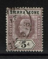 Sierra Leone SG# 80, Used - Lot 031017
