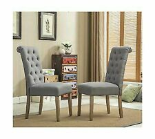 Solid Wood Dining Chairs for sale   eBay