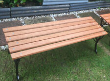 1 cast iron bench for £155. Pickup Only