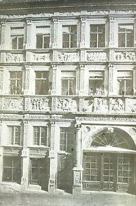 Großformat Glas-Dia Epidiaskop Foto Biblisches Haus von 1570 Neißstr. 29 Görlitz