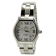 Stainless Steel Band Men's Adult Watches Cushion