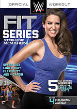 WWE Fit Series: Stephanie McMahon - DVD Like New Workout Video Abs WWF Body