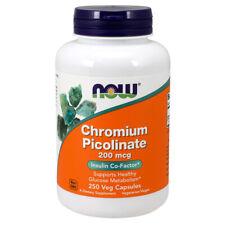Chromium Picolinate, 200mcg x 250 Caps- NOW Foods