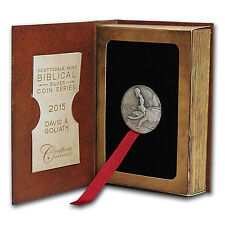 2 oz Silver Coin - Biblical Series (David & Goliath) - SKU #89607