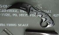 Tac-Force Karambit Spring Assisted Pocket Knife Tactical Combat Finger Ring EDC