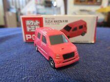 Tomica Taito Prize Half Size P012 Suzuki Wagon R RR PINK HO Scale 1:87