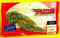 Yum Watermelon Gold Flake Soft Houdini Worm Fishing Lures (15 pack) # YHW670