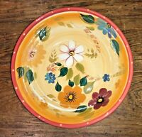 "ONEIDA KITCHEN 2003 SUNSET BOUQUET 9"" VEGETABLE / SERV BOWL BRIGHT COLORS VGUC"