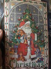 Bucilla Cross Stitch Kit Christmas Advent Calendar Charms Santa Holiday 83698