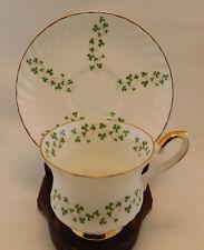 Royal Tara TRELLIS SHAMROCK Teacup & Saucer