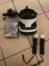 Sony PlayStation VR Bundle Virtual Reality PS4   CUH-ZVR2 *Read*