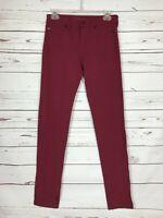 LIVERPOOL Stitch Fix Exclusive Burgundy Denim Jeans Pants Women's Size 2 26 $98