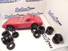 8 + 8 urethane rear/front tyres for K&B 1/24 Ferrari GTO 64 - AUS