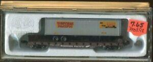N Scale Con-Cor 50' FLAT/TRAILER PACIFIC #0001-01205A