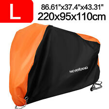 NEVERLAND Waterproof Outdoor Motorcycle Motorbike Cover Rain Storage Protector