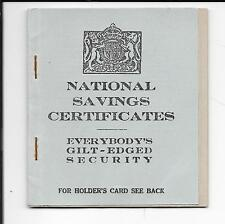 GB 1945 SAVINGS BOOK No74F ISSUED IN BRIGHTON (NO CERTIFICATES)