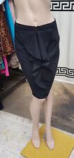 Zara XS Simply Divine Jupe noire avec Savoureuse Grand à volants &