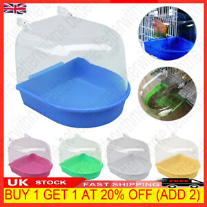 Classic Bird Bath for Caged Birds Aviary Birds Budgie Finches Canaries Shower