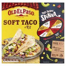 Old El Paso Soft Taco Kit Mild 405g