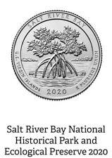 2020 D Us Virgin Islands Salt River Bay Quarter Bu Direct fm Mint Roll Preorder