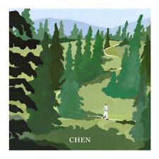 CHEN (EXO) 1ST MINI Album APRIL AND Flower Kihno Kit + Folded Poster