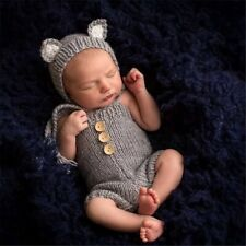 High Quality Light Gray Baby Photography Props Clothes Shooting Photo Costume
