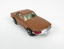 Vintage Playart Mercedes Benz 350SL Diecast Copper Penny Brown Car Hong Kong