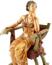 Arabische Beduinin - Wiener Bronze Art - m. Stempel, 2-tlg.