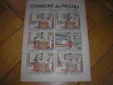 CORRIERE  DEI PICCOLI ANNO 2 #33 1910  BUSTER BROWN RUBINO BRUNELLESCHI ATTILIO