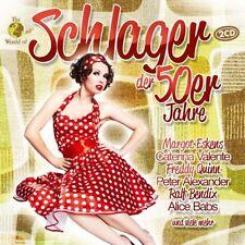 CD succès des années 50er de the world of diverses artiste 2cds