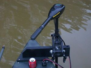 """ANYTIDE"" custom trolling motor arm/ anchoring mount"