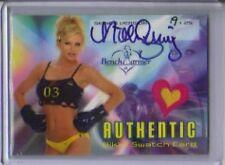 2003 Benchwarmer Nikki Ziering Autograph Swatch 19/25