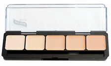 Graftobian HD Glamour Creme Palette, Warm #1, All Skin Types, Cruelty Free