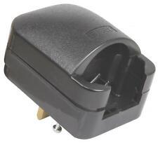 Mercury 429.828 SCP3 5A Fused European to UK 3-Pin BS1363 Black Convertor Plug