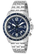 Invicta Specialty 13961 Men's Round Chronograph Date Navy Blue Analog Watch