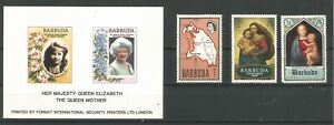 Barbuda - different stamps