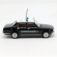 1/43 Alfa Romeo Alfetta 1972 Carabinieri Police Car Model Diecast Display
