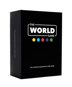 The World Educational Game geography card game for kids adults family UK new