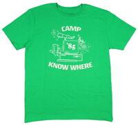 Stranger Things Men's Dustin Camp Know Where 85' T-Shirt Tee