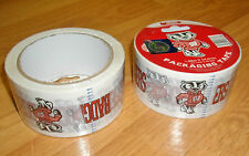WI. BADGER COLLEGIATE PACKAGING TAPE ( 2-ROLLS)
