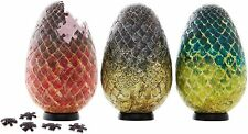 Game of Thrones 4D Cityscape 3D Puzzle Dragon Eggs - 240 Pieces New 7.5""