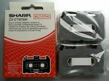 New Sharp ZX-2TM1BK Multi-strike Dual Pack Cassettes Sealed