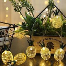 Pineapple String Light Ananas Night Lamp Party Garden Decor Hanging Lantern Set