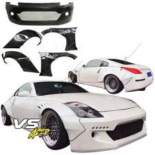 VSaero FRP TKYO Bunny Wide Body Kit 5pc Z33 For Nissan 350Z 03-08
