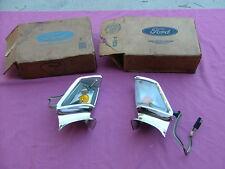 1968 Ford Galaxie parking light assemblies LH RH, NOS!
