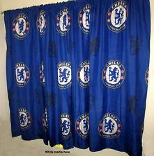 "English Premier League Chelsea Football Club Window Drapes set of 2 - 72"" x 66"""